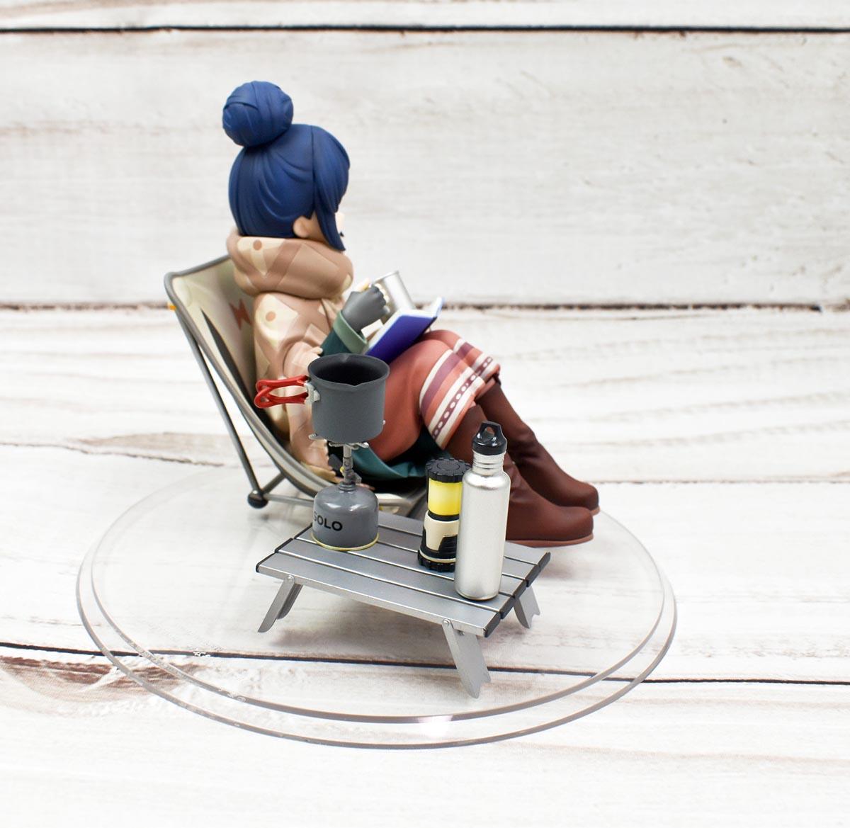 WING ゆるキャン△ 1/7 志摩リン フィギュアレビュー ぐるぐる6